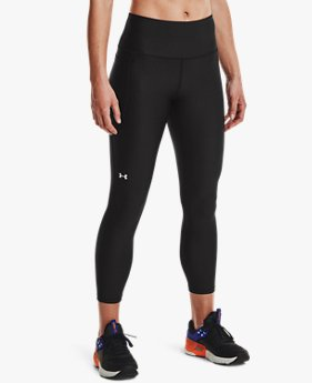 Women's HeatGear® Armour No-Slip Waistband Ankle Leggings